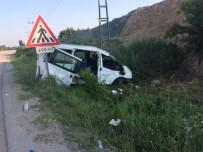 Amasya'da Minibüs Kazası Açıklaması 10 Yaralı