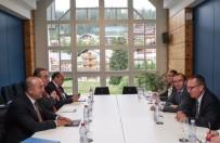 Bakan Çavuşoğlu, BM Heyetiyle Görüştü