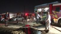 SANAYİ SİTESİ - Başkent'te Korkutan Fabrika Yangın