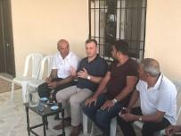 MEHMET ÇETIN - Birecik Kaymakamından Boğulan Çocuğun Ailesine Taziye Ziyareti
