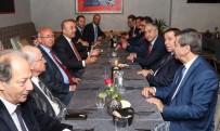 Çavuşoğlu Ve Akıncı, Cenevre'de Siyasi Temsilcilerle Bir Araya Geldi