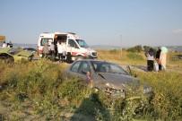 Düğün Konvoyunda Trafik Kazası Açıklaması 4 Yaralı