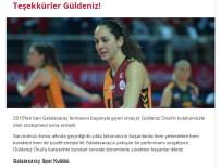 Galatasaray Teşekkürler Veda Etti