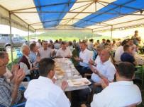 Hayır Yemeğine 500 Kişi Katıldı