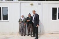 OTURMA ODASI - Hüseyin Dede Çadırda Yaşamaktan Kurtuldu