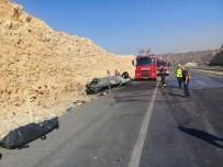 Kahramanmaraş'ta Takla Atan Otomobil Yandı Açıklaması 1 Ölü, 1 Yaralı