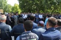 ORMAN VE KÖYİŞLERİ KOMİSYONU - Konya Şeker'de Bayramlaşma
