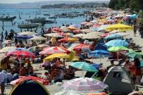 YENIÇIFTLIK - Marmaraereğlisi Sahiline Ziyaretçi Akını