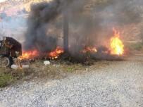 JANDARMA - Marmaris'te Ot Yangını Korkuttu