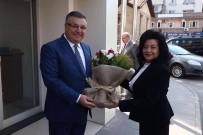 ESENGÜL CIVELEK - Muğla Valiliğine Atanan Civelek'ten Kesimoğlu'na Veda Ziyareti