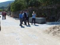 Soma'da Yol Bakım Ve Onarım Çalışmaları Sürüyor