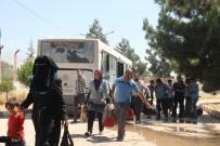 SINIR KAPISI - Suriyeliler Türkiye'ye Dönmeye Başladı