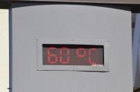 ALLAH - Termometreler 60 Dereceyi Gösterdi