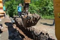 ALT YAPI ÇALIŞMASI - Yağmur Suyu Hatlarına Yenileme Çalışması