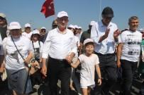 Yürüyüşün 14'Üncü Günü Tamamlandı Açıklaması Gergin Anlar Yaşandı