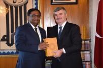 BANGLADEŞ - Bangladeş Büyükelçisi'nden Başkan Akyürek'e Ziyaret