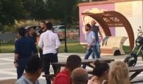 ÇORLU BELEDİYESİ - Çocuk parkında dehşet anları