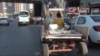 E-5'Te At Arabalı Tehlikeli Yolculuk Kamerada