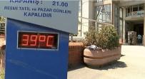 BUZ KÜTLESİ - İstanbul'da Termometreler '39' Dereceyi Gösterdi