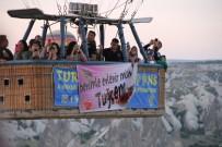EVLİLİK TEKLİFİ - Kapadokya Semalarında Sürpriz Evlilik Teklifi