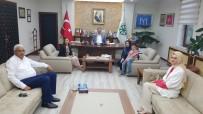 KAYSERİ ŞEKER FABRİKASI - Kayseri Milletvekili  Hülya Nergis Atçı'dan Başkan Akay'a Tebrik Ziyareti
