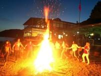 ZEYTİNBURNU BELEDİYESİ - Kaz Dağları'nın Eteğinde Kamp Ateşi
