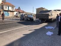 KOZLUCA - Malatya'da Feci Kaza Açıklaması 2 Ölü, 3 Yaralı