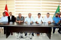 SÜLEYMAN SOYLU - Muhtarlar Ve Ziraat Odası Başkanlarından Ortak Açıklama