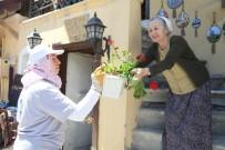 ÇIÇEKLI - Odunpazarı Sardunyalarla Süslendi