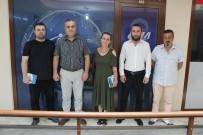 SADRAZAM - Tarihi Alipaşa Çarşısı Yönetiminden İHA'ya Ziyaret