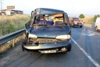 Tekirdağ'da Trafik Kazası Açıklaması 3 Yaralı