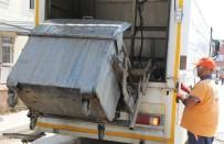 BÜYÜKŞEHİR YASASI - Toroslar'da Çöp Konteynerleri Dezenfekte Ediliyor