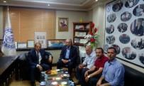 İBRAHIM TAŞYAPAN - Van Valisi Taşyapan, Van Demirciler Tornacılar Tamirciler Esnaf Ve Sanatkârlar Odası'na Veda Ziyaretinde Bulundu