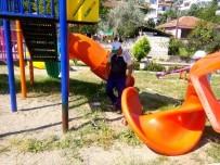 VEZIRHAN - Vezirhan'da Bütün Çocuk Parkları Elden Geçirildi