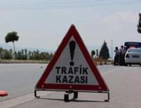 SEKILI - Yerköy'de trafik kazası: 2 yaralı