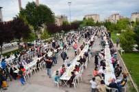 Aksaray'da 2 Bin 500 Kişi İftar Sofrasında Buluştu