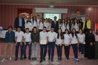 MESLEK LİSESİ - Avrupa'da Staj Yapan Öğrenciler Sertifikalarını Aldı