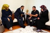 MUSTAFA AK - Başkan Ak'tan Sürpriz Ev Ziyareti