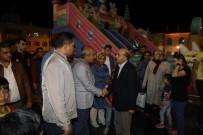 TRAFİK SORUNU - Başkan Kara İftar Sonrası Ramazan Etkinliği Yapılan Bölgeyi Gezdi