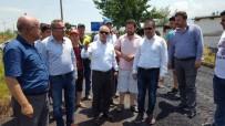 TAYTAN - Başkan Kayda, Taytan'daki Asfalt Çalışmalarını İnceledi
