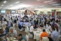 BELEDİYE ÇALIŞANI - Bayrampaşa Belediyesi Personeli, İftar Yemeğinde Buluştu