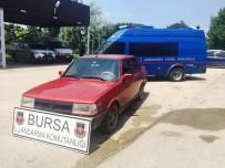 FAILI MEÇHUL - Bursa'da Otomobil Hırsızlığı Ve Kundaklama Şüphelileri Yakalandı
