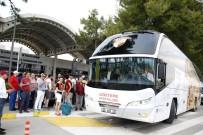 ALI PALABıYıK - Göztepe'ye Antalya'da Şampiyon Gibi Karşılama