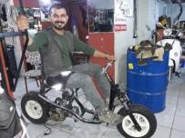 ELEKTRİKLİ BİSİKLET - Hurdadan Otomatik Vitesli Motosiklet Üretti