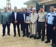 EMEKLİ İMAM - Şehit Kaymakam Safitürk'ün Babası, Son Görev Yeri Olan Köyü Ziyaret Etti