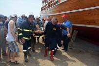Sinop'ta Tersanede İş Kazası Açıklaması 1 Yaralı
