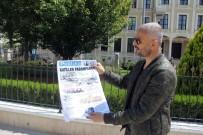 HELİKOPTER KAZASI - Skandal Başlığı Atan Gazeteyi Yakarak Protesto Etti