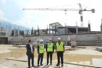 İNŞAAT ALANI - Türkiye'nin En Büyük Spor Kompleksi Yıldırım'da Yükseliyor