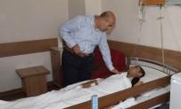 YARALI ASKERLER - Vali Demirtaş'tan Yaralı Askerlere Ziyaret