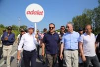 DİKTATÖRLÜK - Aksu Ve Bektaşoğlu 'Adalet Yürüyüşü'ne Katıldı